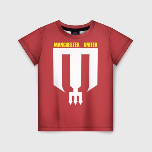 Детская футболка 3D Manchester Unt