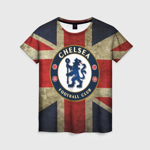 Женская футболка 3D Chelsea №1!