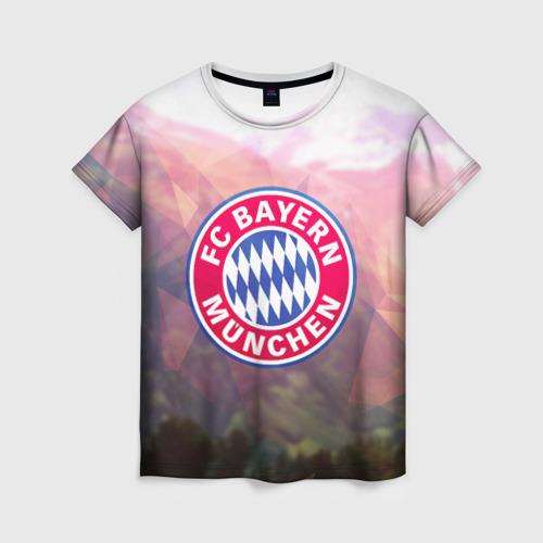 Женская футболка 3D Бавария