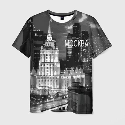 Мужская футболка 3D Москва