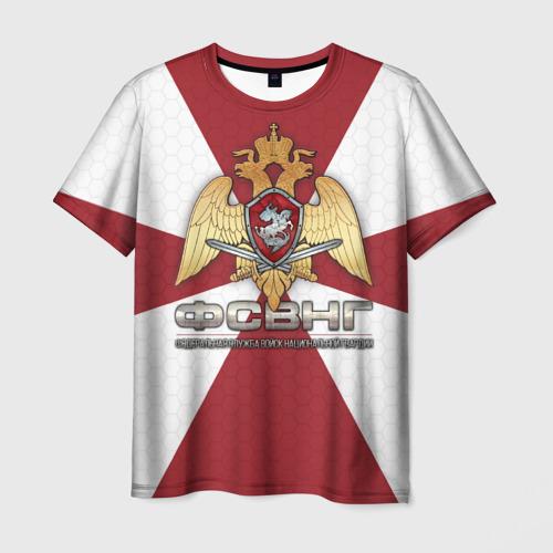 Мужская футболка 3D ФСВНГ (Росгвардия)