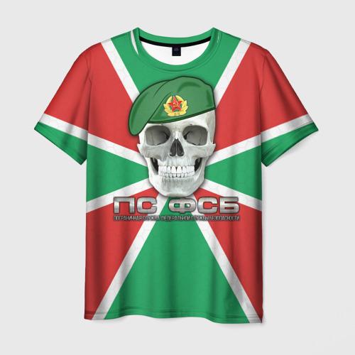 Мужская футболка 3D ПС ФСБ