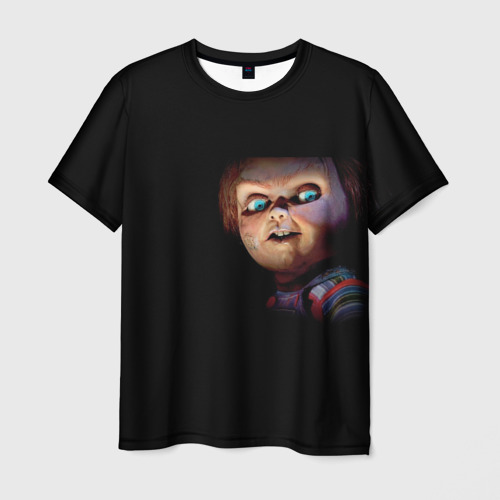 Мужская футболка 3D Кукла Чаки