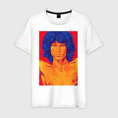 Мужская футболка хлопок Джим Моррисон