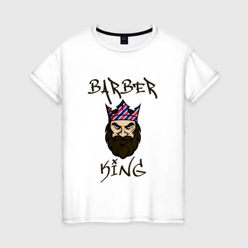 Женская футболка хлопок Барбер