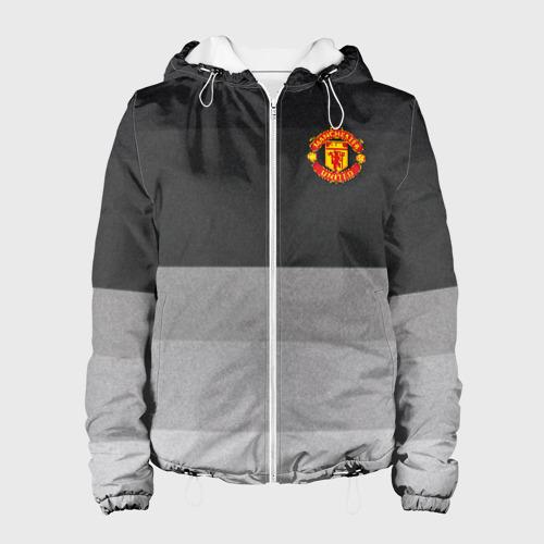 Женская куртка 3D Manchester United - Noise (Шум)