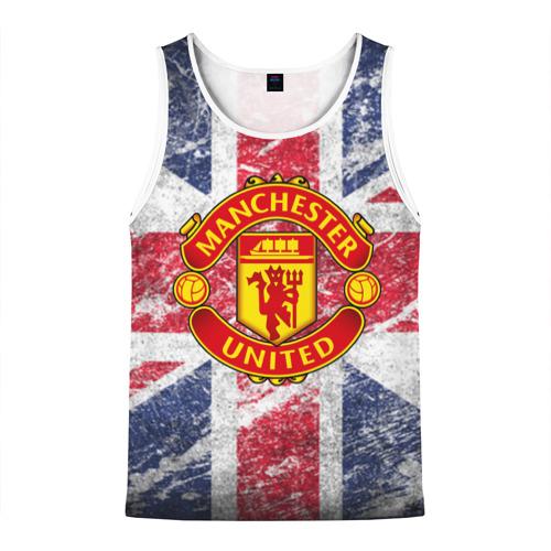 Мужская майка 3D British Manchester United