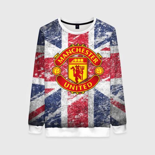 Женский свитшот 3D British Manchester United