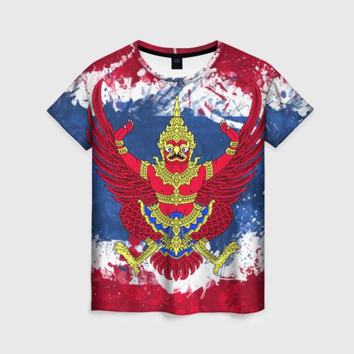 Женская футболка 3D Таиланд