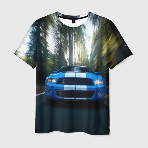 Мужская футболка 3D Форд