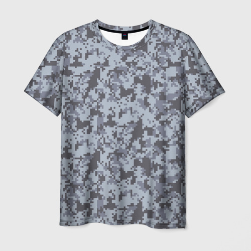 Мужская футболка 3D камуфляж 1