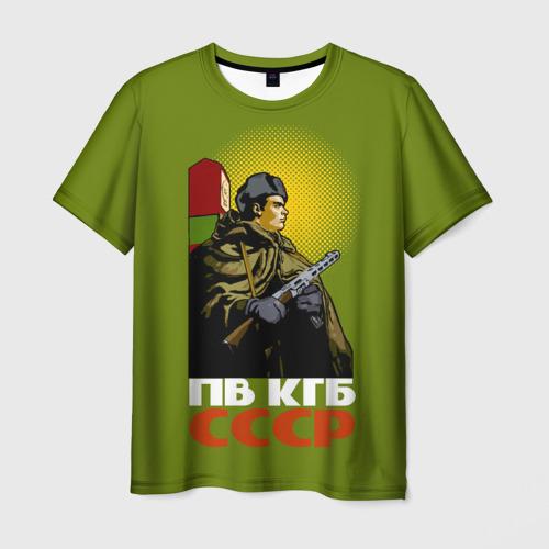 Мужская футболка 3D ПВ КГБ СССР