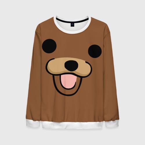 Мужской свитшот 3D Медведь