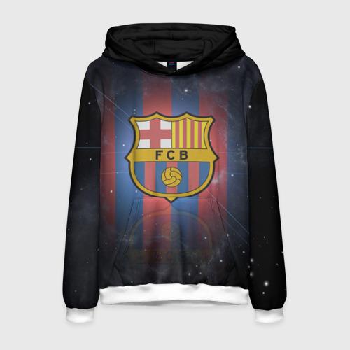 Мужская толстовка 3D Я фанат fc Barcelona!