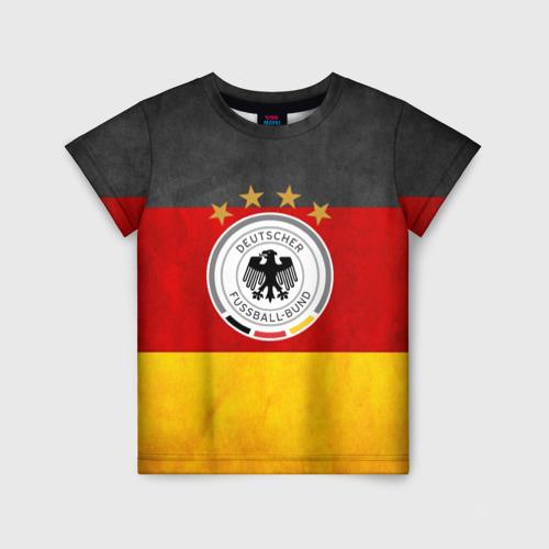 Детская футболка 3D Сборная Германии