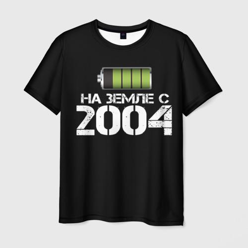 Мужская футболка 3D На земле с 2004
