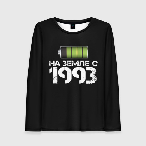 Женский лонгслив 3D На земле с 1993