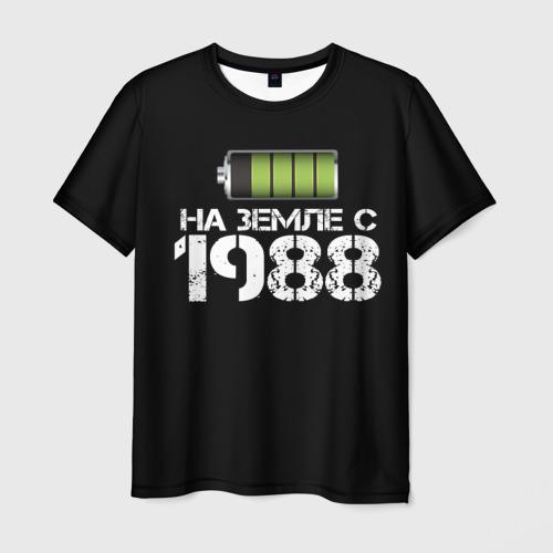 Мужская футболка 3D На земле с 1988