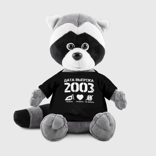 Игрушка Енотик в футболке 3D Дата выпуска 2003