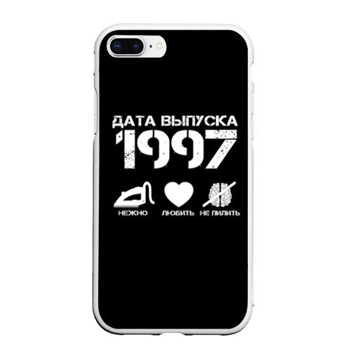 Чехол для iPhone 7Plus/8 Plus матовый Дата выпуска 1997