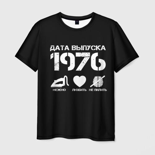 Мужская футболка 3D Дата выпуска 1976