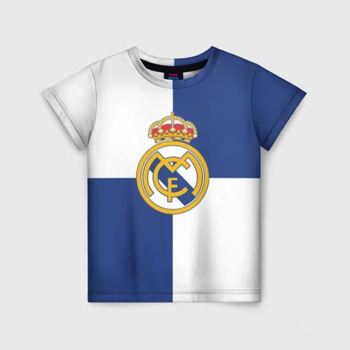 Детская футболка 3D Real Madrid №1!