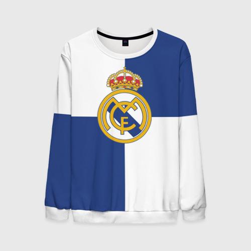 Мужской свитшот 3D Real Madrid №1!