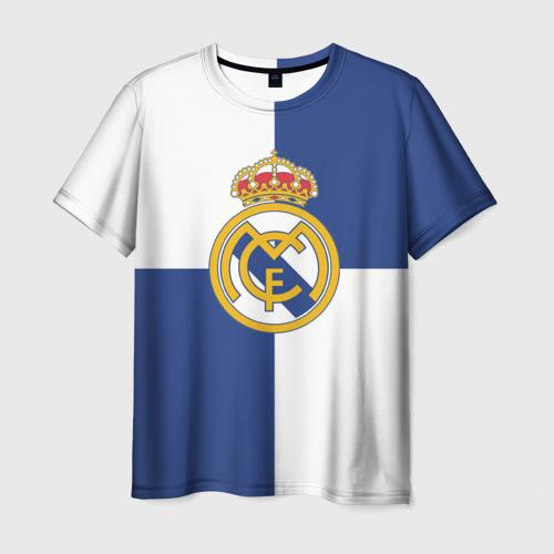 Мужская футболка 3D Real Madrid №1!