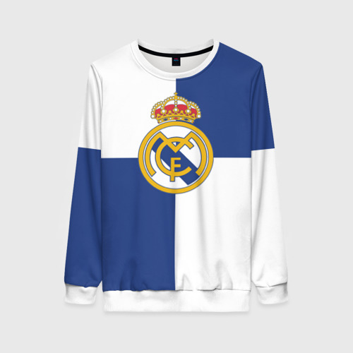Женский свитшот 3D Real Madrid №1!