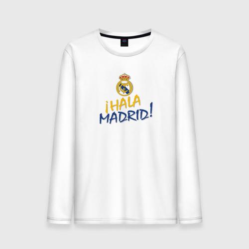 Мужской лонгслив хлопок Real Madrid - i Hala Madrid !