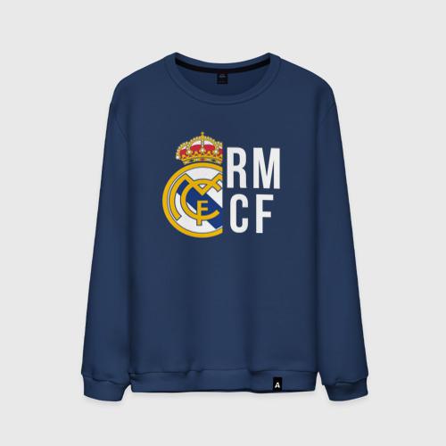 Мужской свитшот хлопок Real Madrid - RM/CF (Classic)