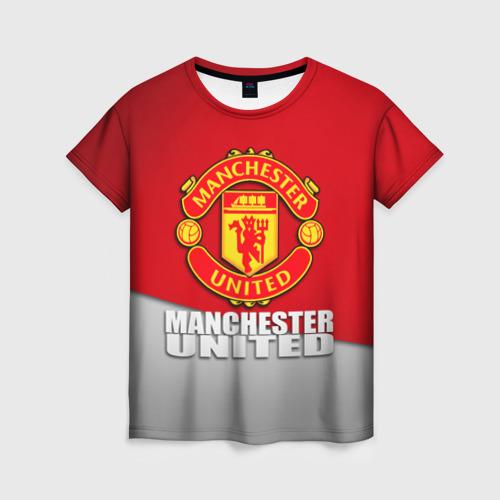 Женская футболка 3D Манчестер