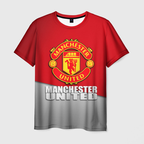 Мужская футболка 3D Манчестер