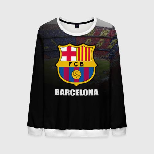 Мужской свитшот 3D Барселона