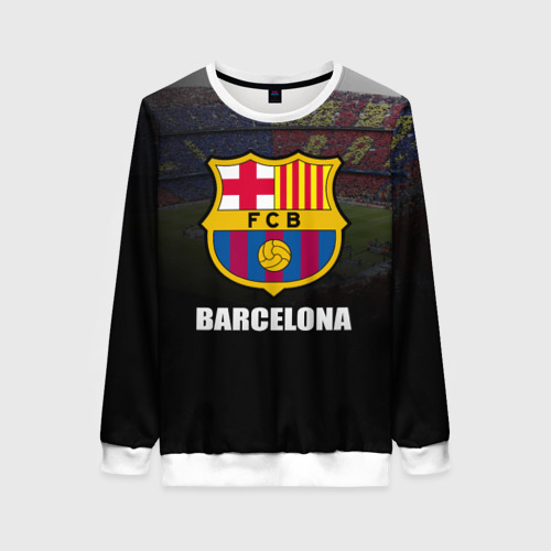 Женский свитшот 3D Барселона
