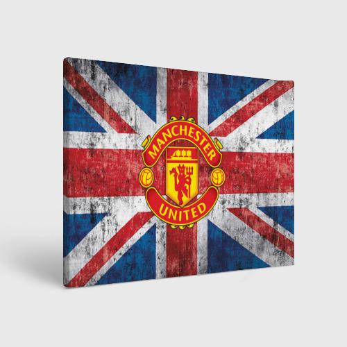 Холст прямоугольный Manchester United №1!