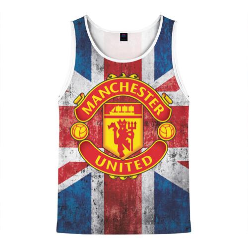 Мужская майка 3D Manchester United №1!