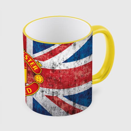 Кружка с полной запечаткой Manchester United №1!