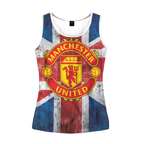 Женская майка 3D Manchester United №1!
