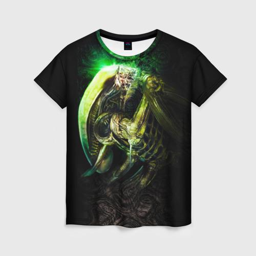 Женская футболка 3D Чужой
