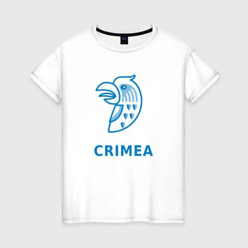 Женская футболка хлопок Крым