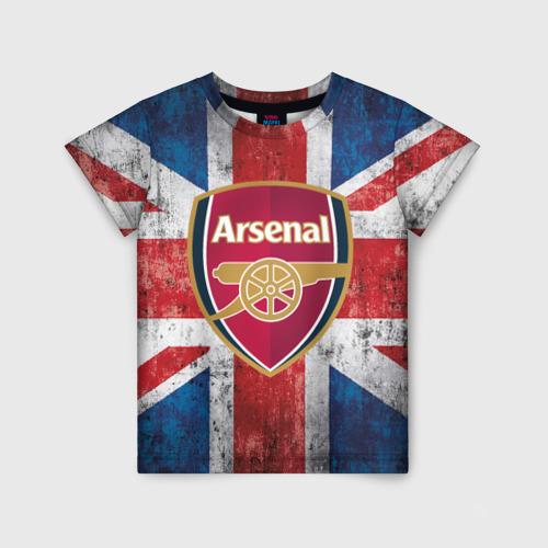 Детская футболка 3D Арсенал ФК