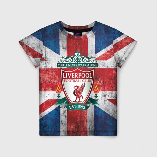 Детская футболка 3D Ливерпуль ФК