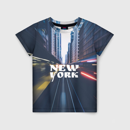 Детская футболка 3D New York