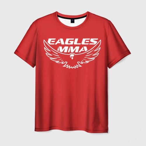 Мужская футболка 3D Eagles mma