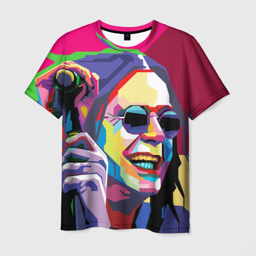 Мужская футболка 3D Оззи Осборн
