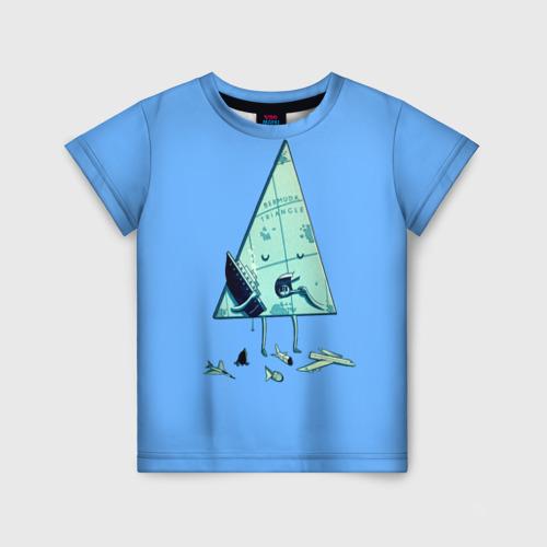 Детская футболка 3D Бермудские острова