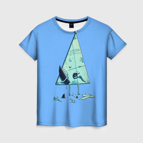 Женская футболка 3D Бермудские острова
