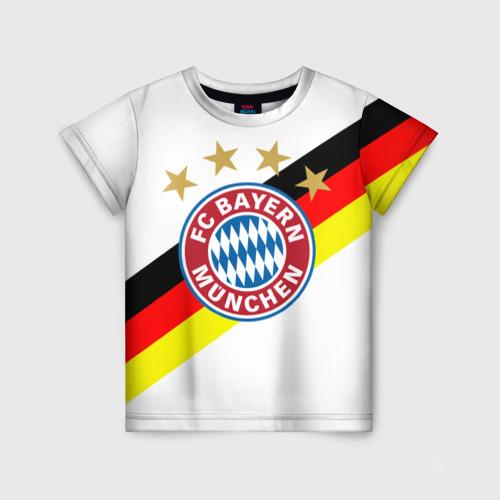 Детская футболка 3D ФК Бавария
