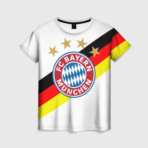 Женская футболка 3D ФК Бавария